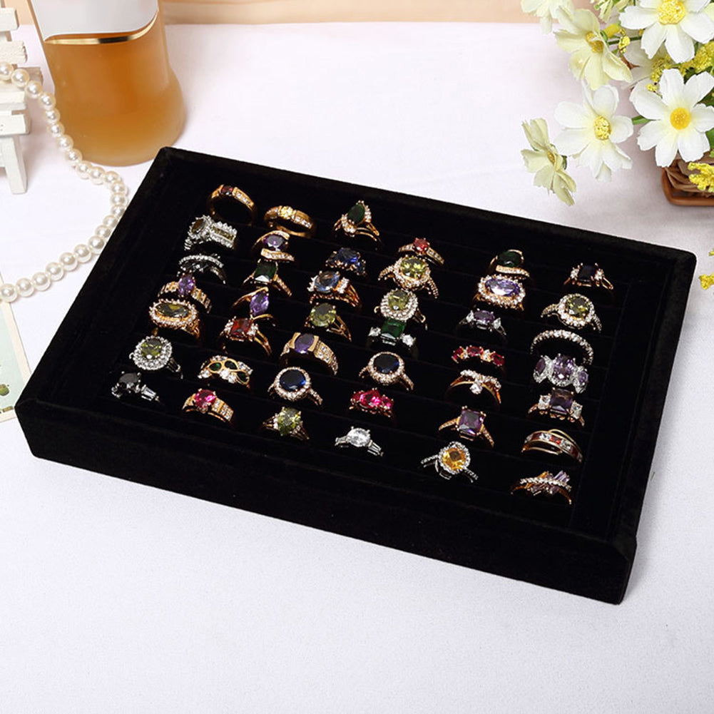 Velvet Ring Organizer - Urban Decor Outlet