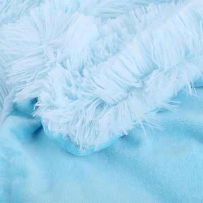 Fuzzy Throw Blanket - Urban Decor Outlet