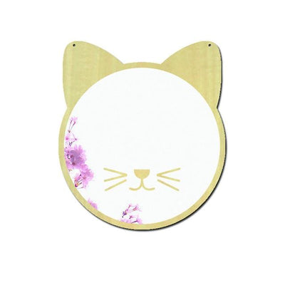 Wall Mirror Decal Glowfulness Cat