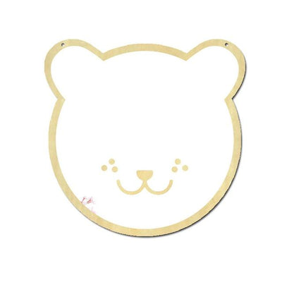 Wall Mirror Decal Glowfulness Bear