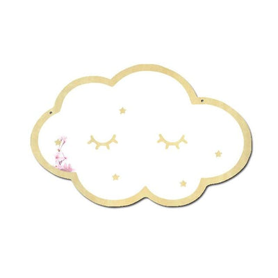 Wall Mirror Decal Glowfulness Cloud