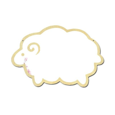 Wall Mirror Decal Glowfulness Sheep