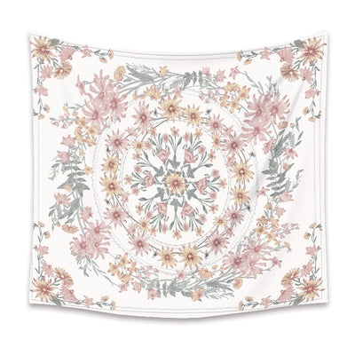 White Mandala Collection- Tapestry - Urban Decor Outlet