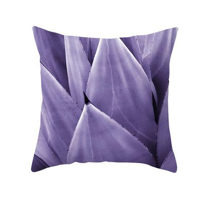 Purple Geometric Cushion Cover - Urban Decor Outlet