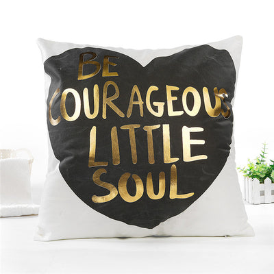 White & Gold Collection- Pillowcover - Urban Decor Outlet