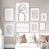 Drawn Abstract Wall Print - Urban Decor Outlet