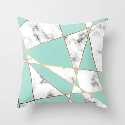 Pink Marble Geometric Collection- Pillowcover - Urban Decor Outlet
