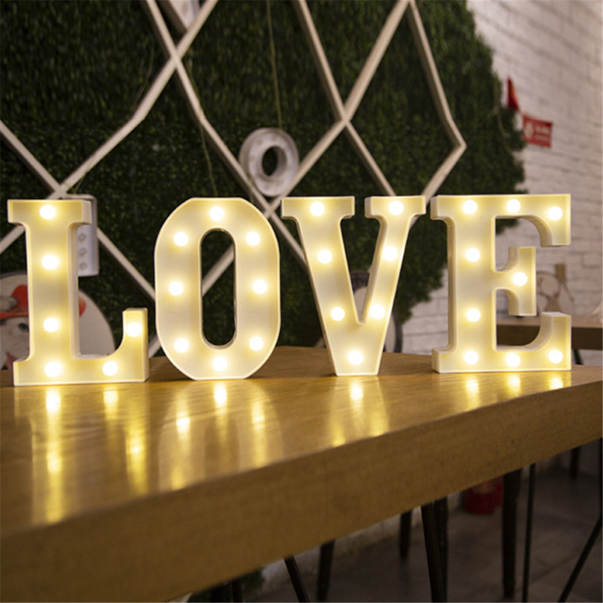 LED Luminous Light Up Letter - Urban Decor Outlet
