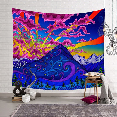Psychedelic Collection- Tapestry - Urban Decor Outlet