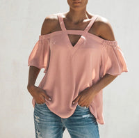 Cool Off The Shoulder Blouse