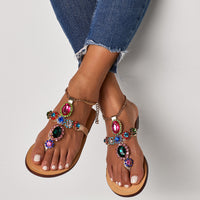 Colorful Jewel Slippers