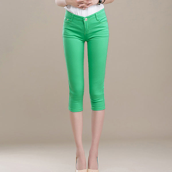 Candy Capri Stretch Pants