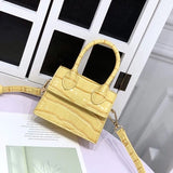 Crocodile Pattern Shoulder Bags
