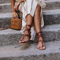Clip Toe Buckle Open Toe  Sandals