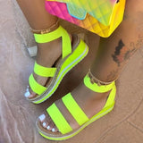 Double Strap Wedges