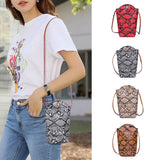 Snake Skin Shoulder Bag