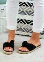 Slip On Bow Mules