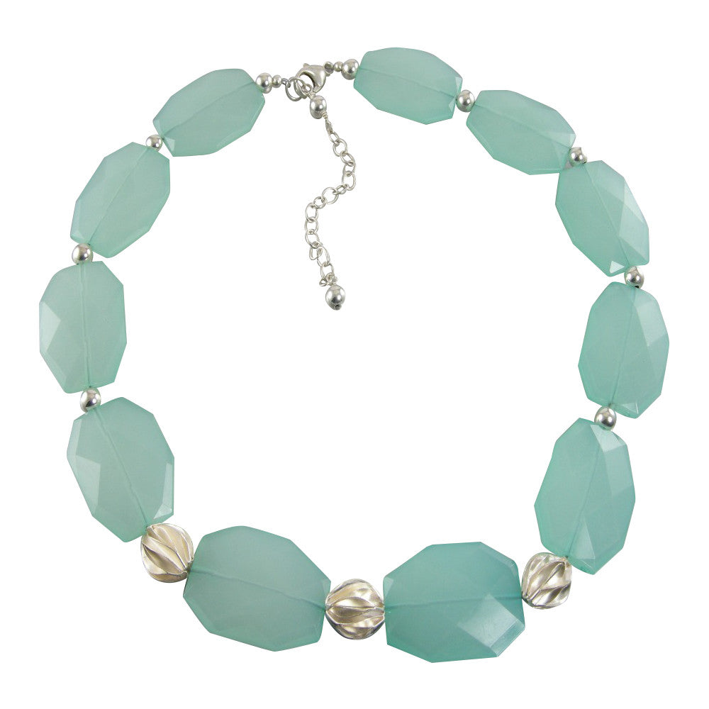 green sea foam necklace