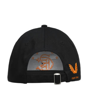 Stadium Cap - Black/Orange