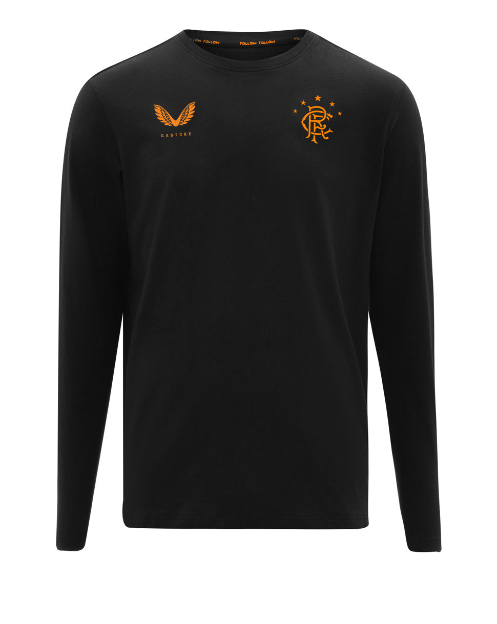 RFC Long Sleeve Tee - Black/Orange