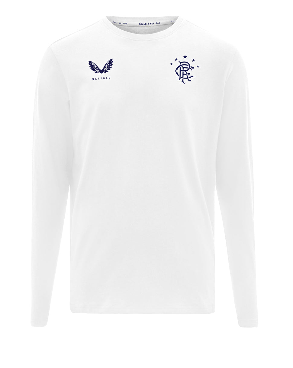 RFC Long Sleeve Tee - White/Navy
