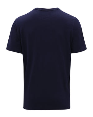 RFC Cotton SS Tee - Navy/White