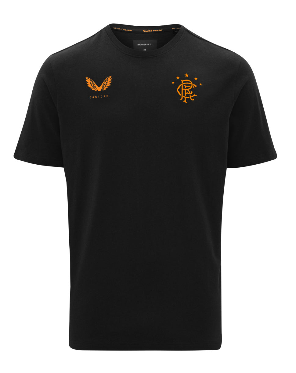 RFC Logo Tee - Black/Orange