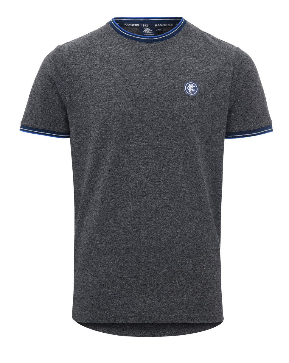 RFC Rubber Badge Tee - Grey