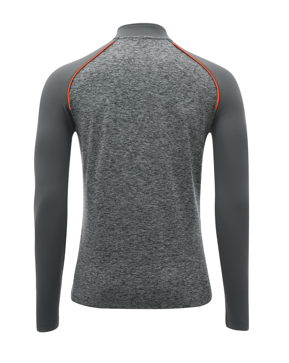 Mens Players Match Day 1/4 Zip Drill Top
