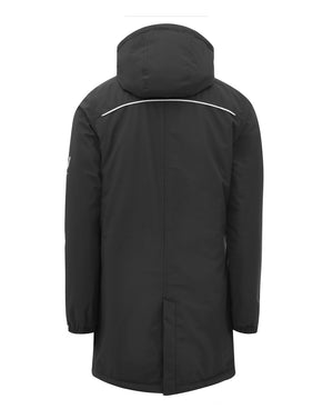 Mens Coaches Travel Bench Jacket - Black