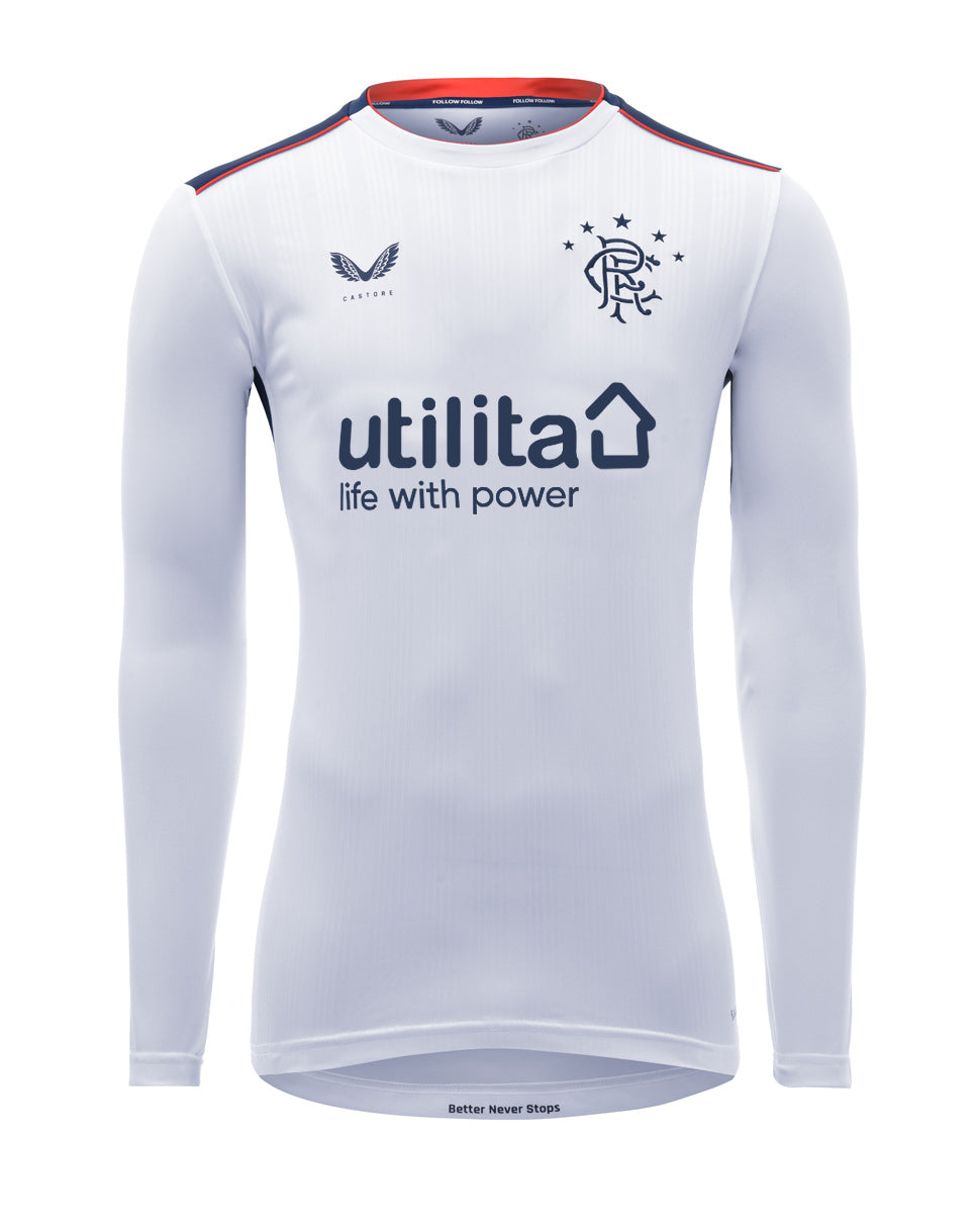 Junior Away Long Sleeved Shirt