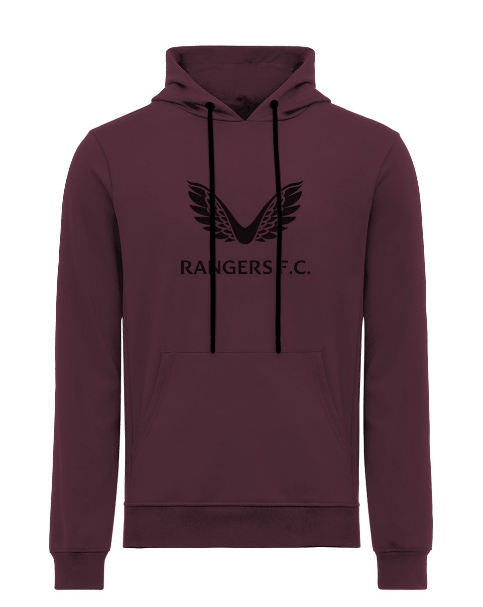 The Rangers Hoody - Maroon