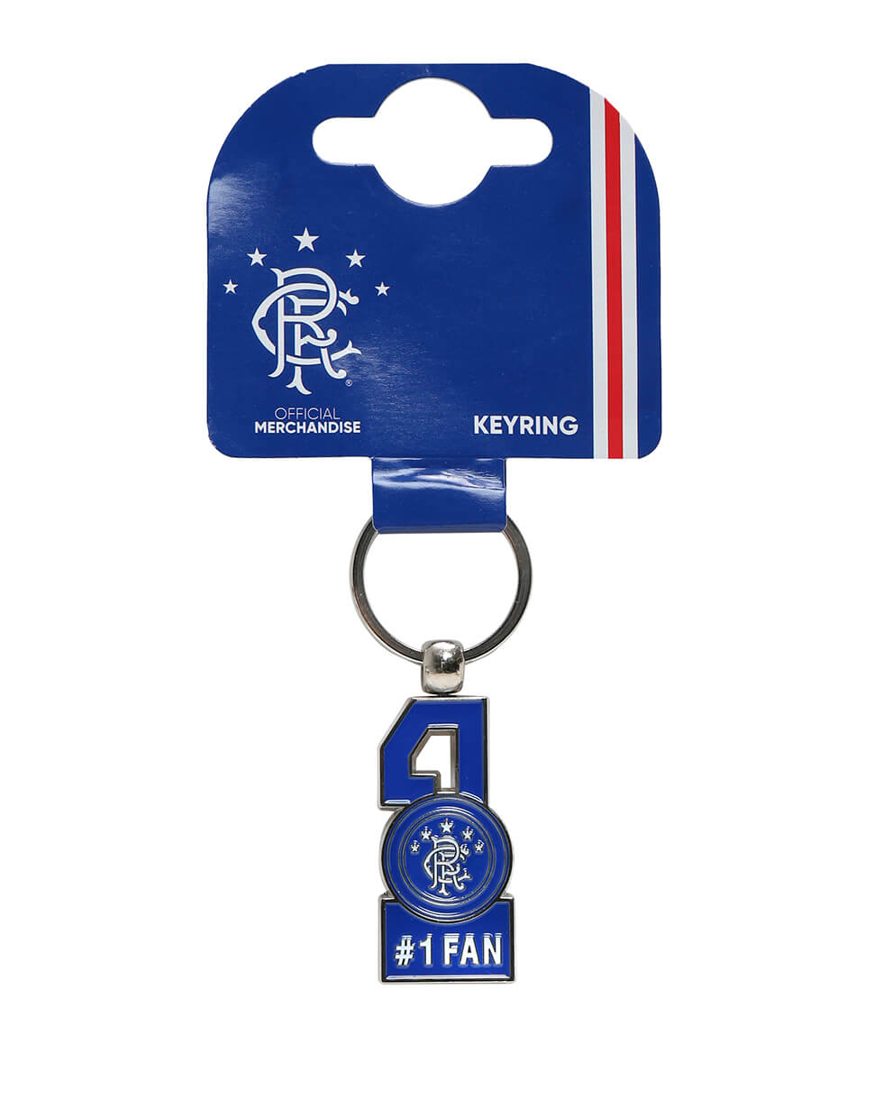 No 1 Fan Keyring