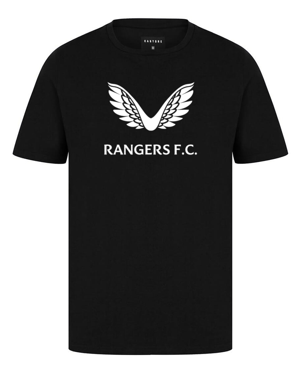 RFC Cotton SS Tee - Black/White
