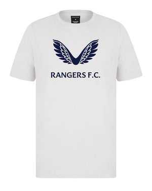 RFC Cotton SS Tee - White/Navy