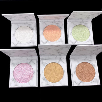 Single Highlight Marble Palette - showemakeup