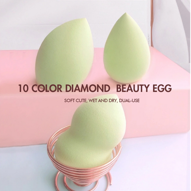 10 color diamond  beauty egg (with box) - showemakeup