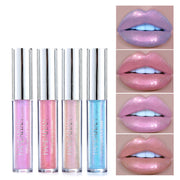 Polarized colorful lip glaze - showemakeup