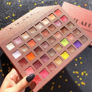 40-color keyboard pearly matte eyeshadow palette - showemakeup