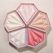 Diamond highlighter brightening complexion powder - showemakeup