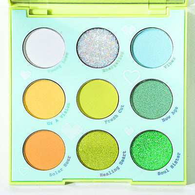 Pastel Eyeshadow 9-color crulty free - showemakeup