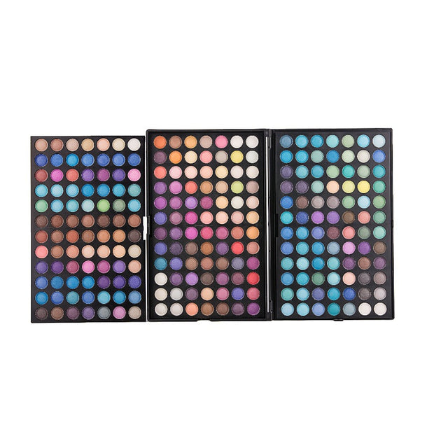 252 Colors Super Eyeshadow Palette - showemakeup