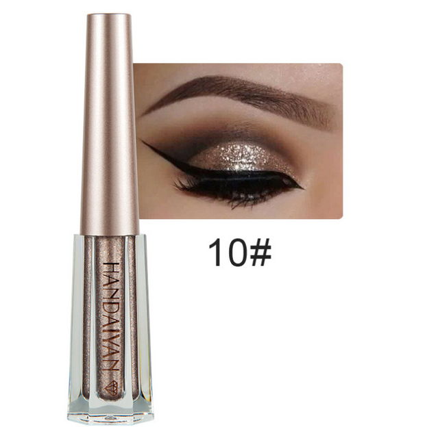 Diamond Pearlescent Liquid Eyeshadow 12 colors - showemakeup