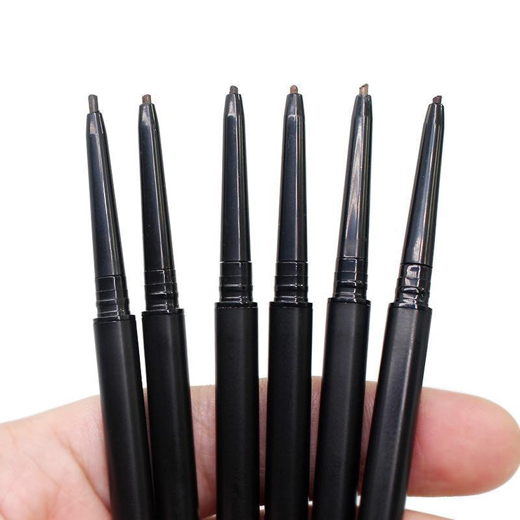 6 Colors  Black Tube Eyebrow Pencil - showemakeup