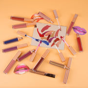 13 Color Rose Gold Lip Gloss - showemakeup