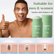 Cleansing Facial Mask Stick For All Skin Types (Women & Men) - showemakeup