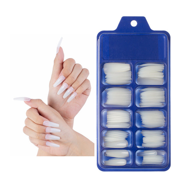 False Nail Tips 10 Sizes 10 tips each - showemakeup