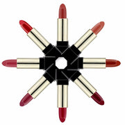 16 colours black square tube lipsticks - showemakeup