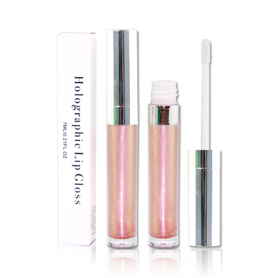 4 Colors Holographic Lip Glosses - showemakeup