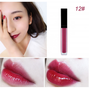 17 Colors Black Lid Square Tube Lip Glosses - showemakeup